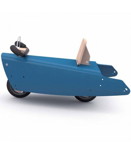 Draisienne voiture BLEU FONCE