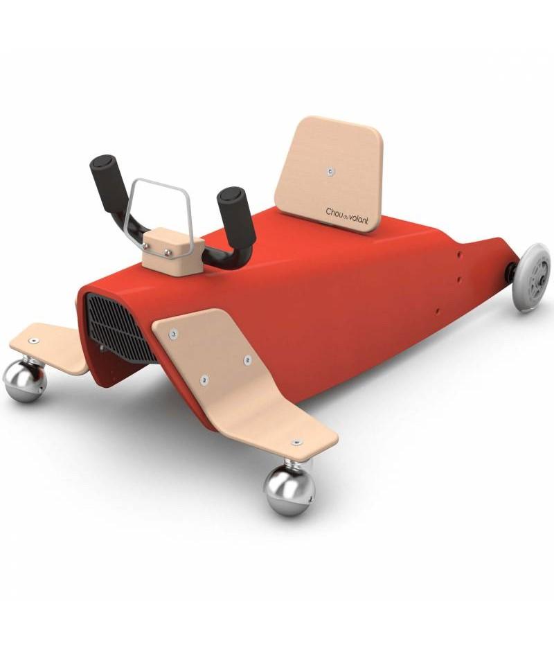Porteur avion - 2 jouets en 1 ROUGE