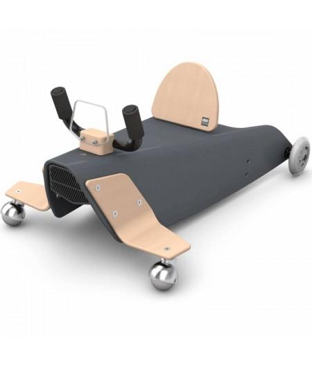 Porteur draisienne avion - 3 jouets en 1NOIR