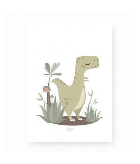 Affiche décoration Monsieur T-Rex