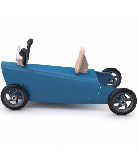 Porteur quad bleu foncé