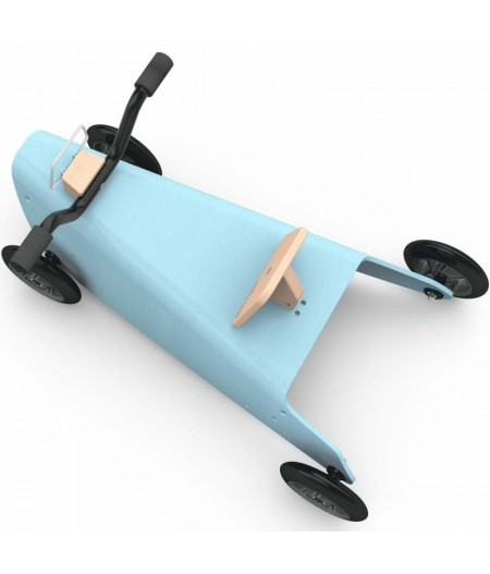 Porteur draisienne quad - 3 jouets en 1 BLEU CIEL