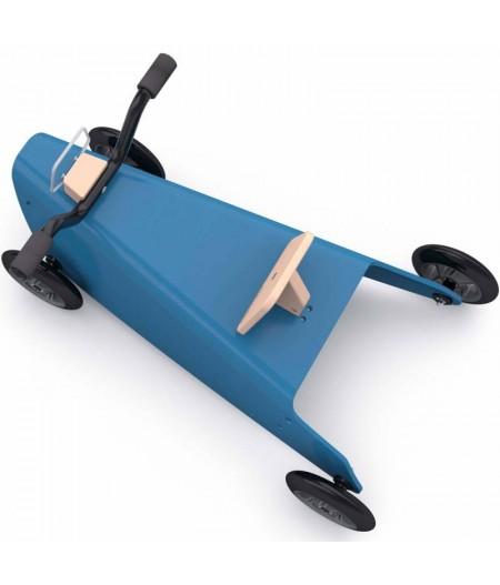 Porteur draisienne quad - 3 jouets en 1 BLEU FONCE