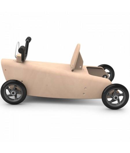 Porteur draisienne quad - 3 jouets en 1 MARRON