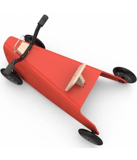 Porteur draisienne quad - 3 jouets en 1 ROUGE