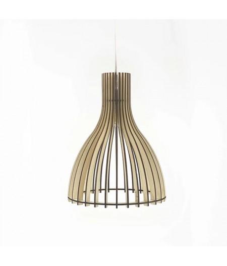 Luminaire design en bois made in france