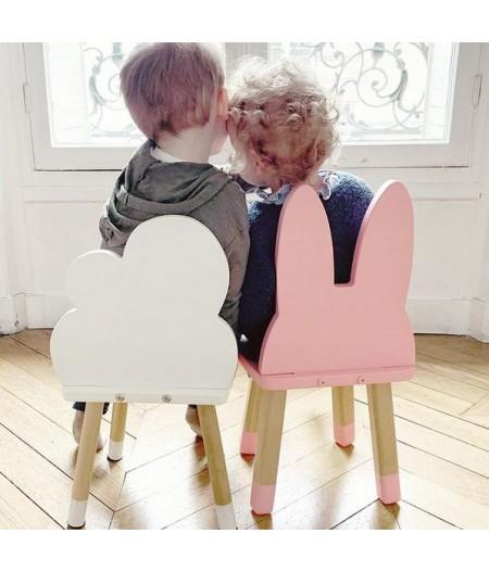 Petite chaise enfant nuage ou lapin