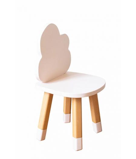 Petite chaise enfant rose poudré
