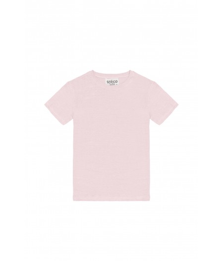 T-shirt en lin bio Splice
