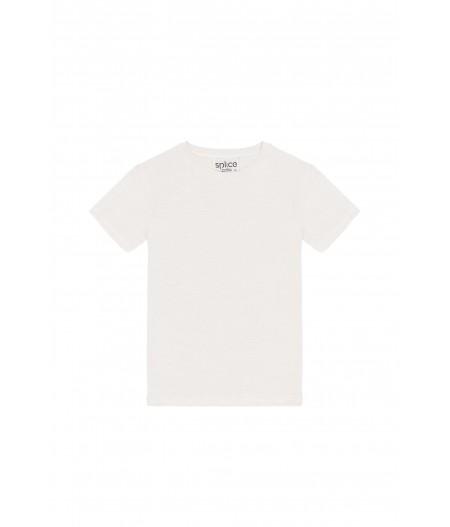 Tee-shirt en lin blanc