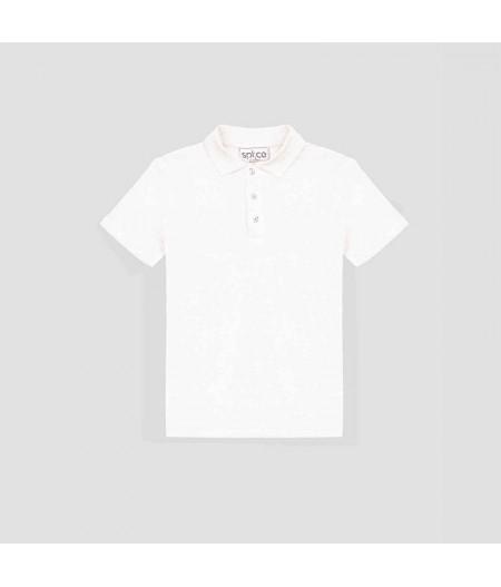 T-shirt en lin bio homme blanc