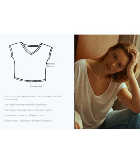 T-shirt en lin femme francais