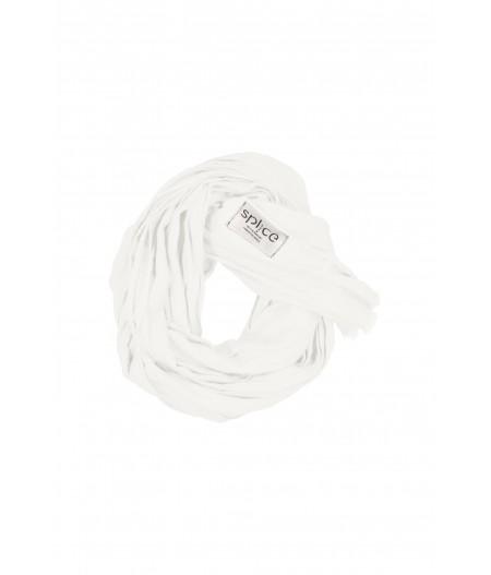 Echarpe en lin blanc
