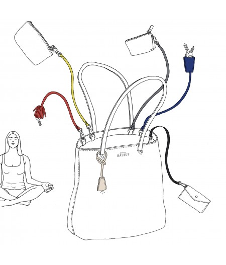 Accessoire pour sac à main made in france