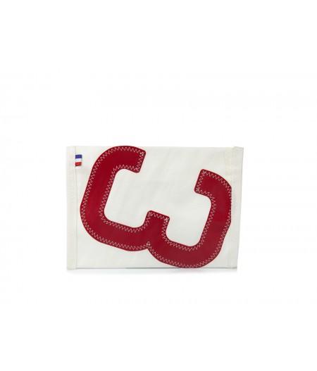 Pochette Zippée 3 rouge