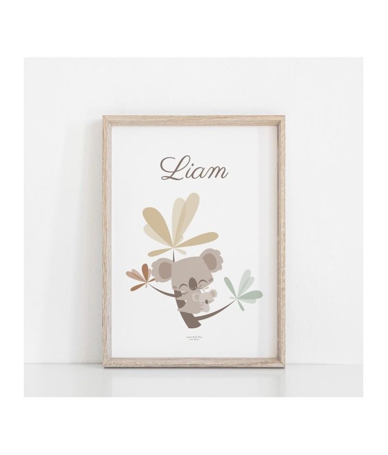 Affiche décorative Petit Koala