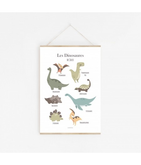 Poster Les Dinosaures