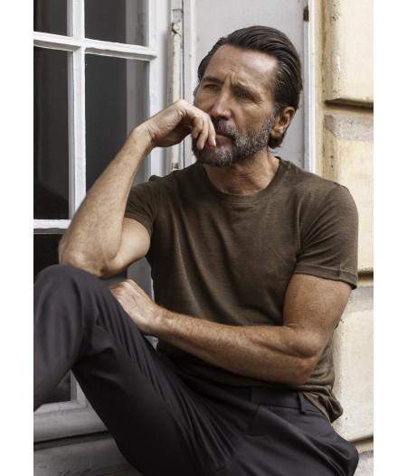 T-shirt homme en lin français