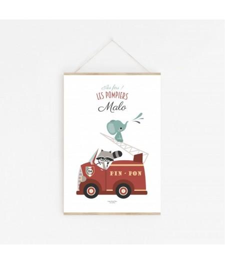 Personnalisation - Au Feu les Pompiers