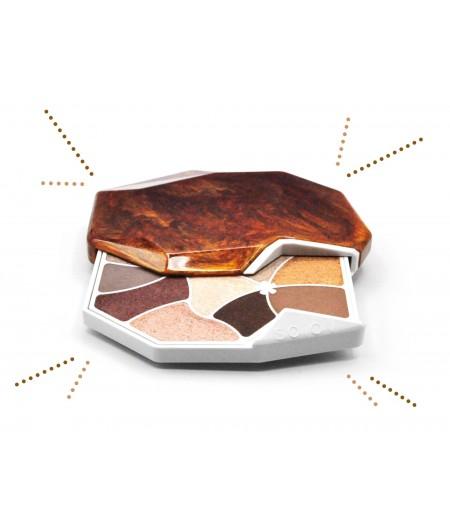 Palette de maquillage Ambre en pierre naturelle