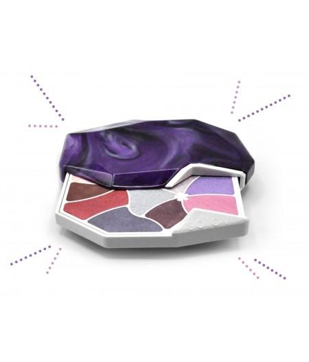 Palette de maquillage aux 10 couleurs
