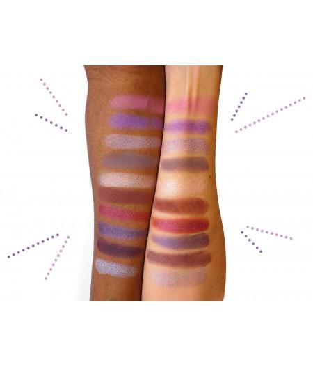 maquillage 10 couleurs minérales