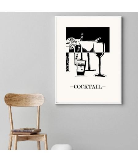 Affiche COCKTAIL bar pour votre décoration