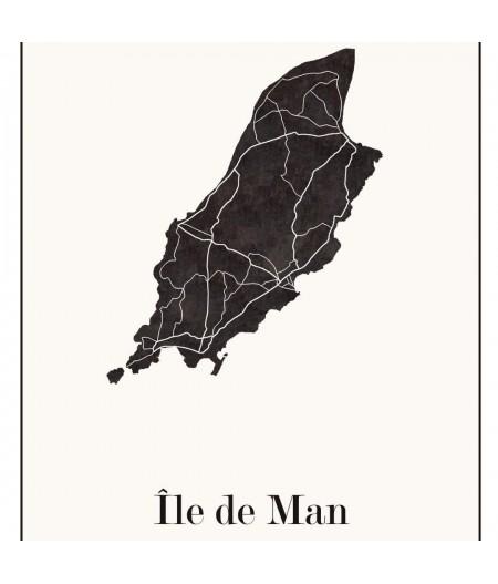 Affiche Design de l'Ile de MAN