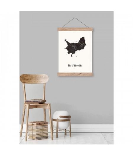 CARTE Design du MORBIHAN, choisissez votre triptyque de Bretagne pour décoration