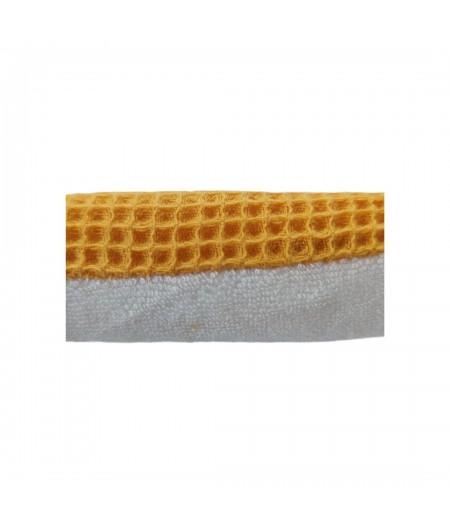 éponge lavable jaune