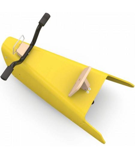 Draisienne moto jaune