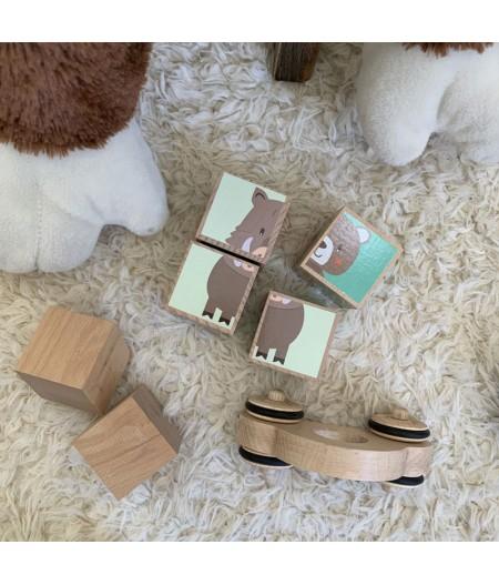Puzzle Martine en bois