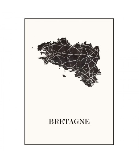 Carte Design de Bretagne