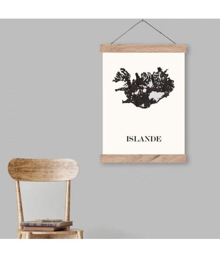Carte Design d'Islande