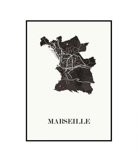Carte Design de Marseille