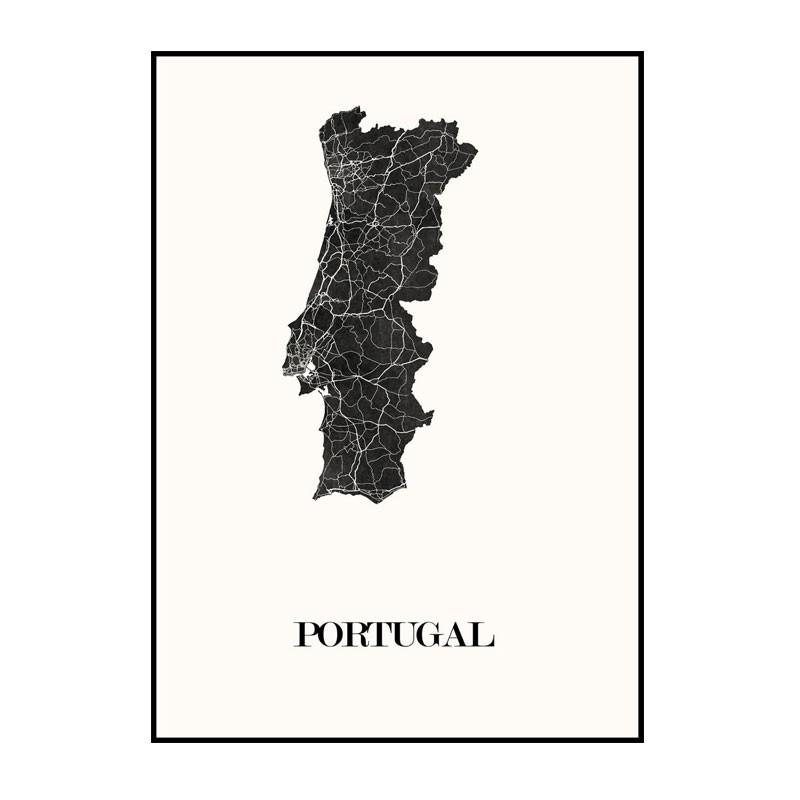 Carte Design du Portugal