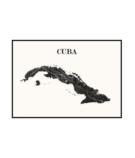 Carte Design de Cuba