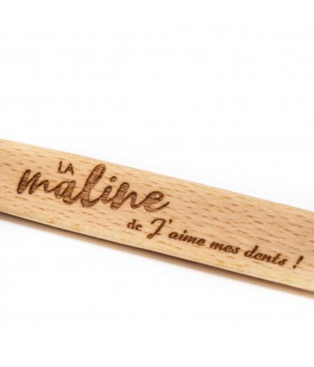 Brosse à dents en bois à tête changeable – La Maline