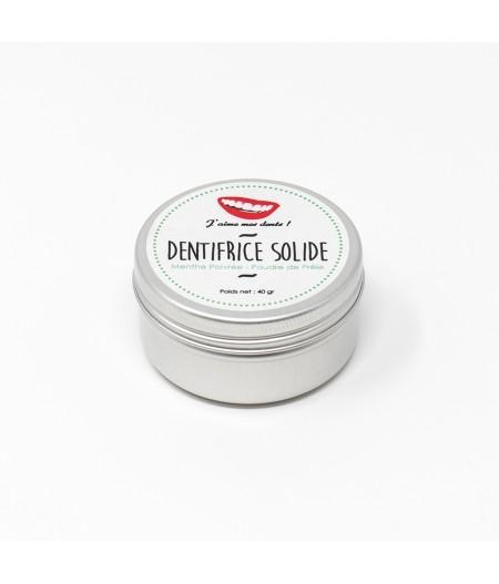 Dentifrice solide Menthe poivrée – 100% Naturel