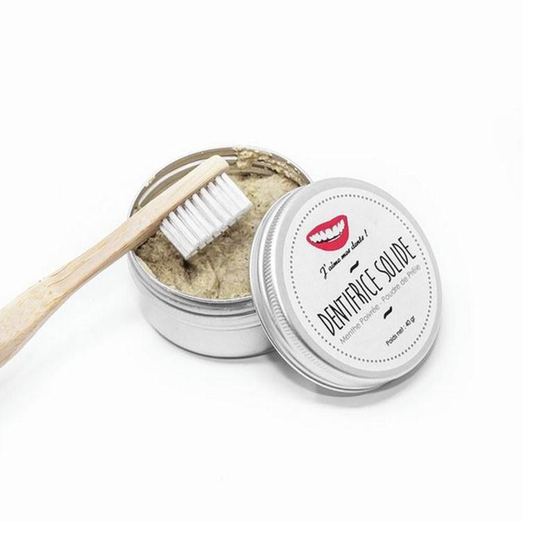 Dentifrice solide Menthe poivrée 100% Naturel