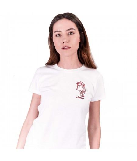 T-shirt blanc la bohème