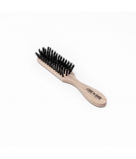 Brosse à barbe Poils de Sanglier – Bois de Hêtre naturel