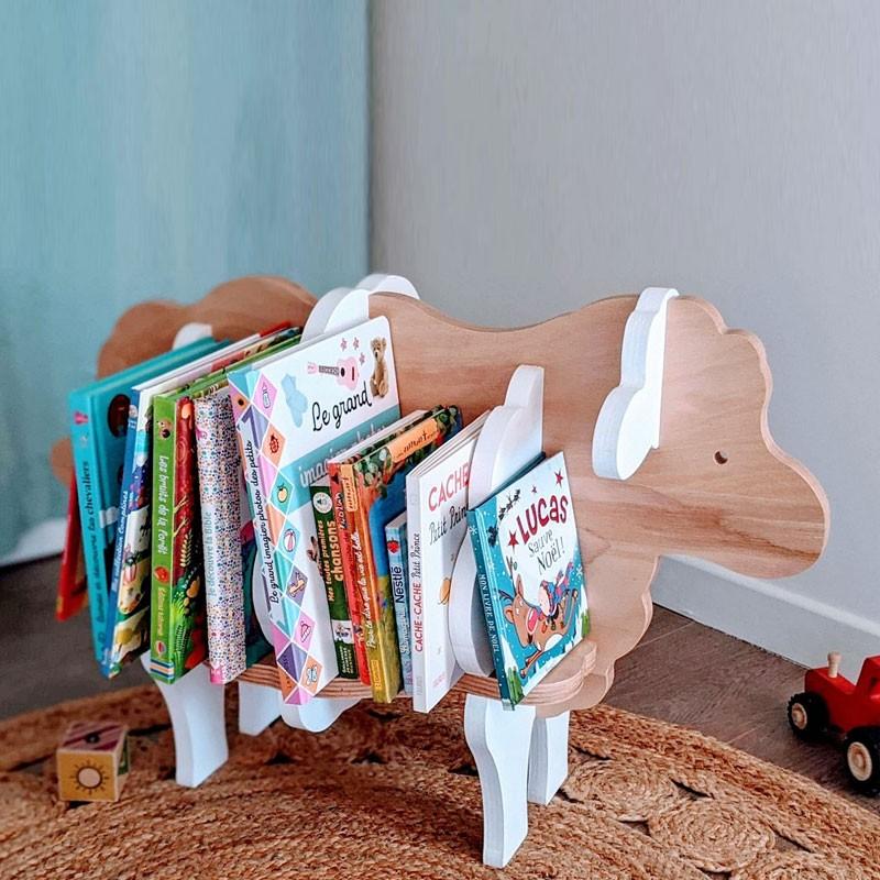Bibliothèque en bois pour enfant Augustin