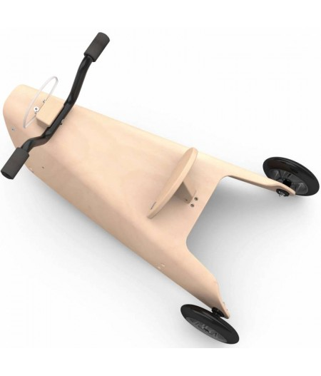 Porteur moto - 2 jouets en 1 marron