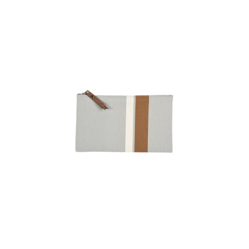 Trousse de toilette AURICE GRIS 20 X 12 cm