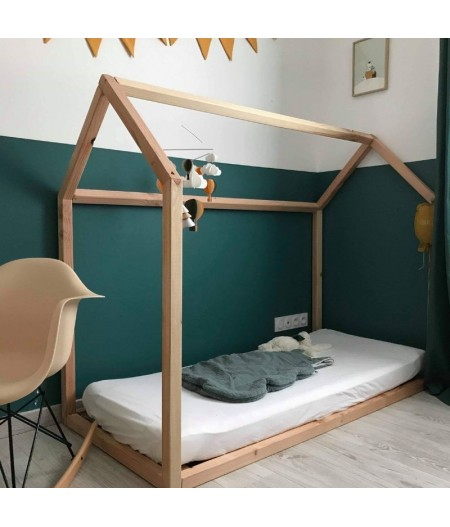 "Lit Cabane Montessori ""Mini Bambin"" 70x140"