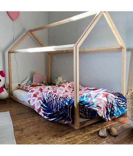 "Lit Cabane Montessori ""Grand Bambin"" 90x190"