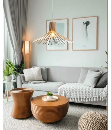 Suspension Azur designer Atelier Loupiote