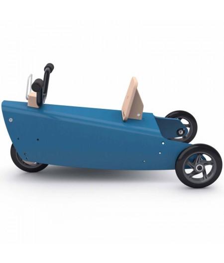 Jouet moto 4 fonctions en 1 Bleu foncé