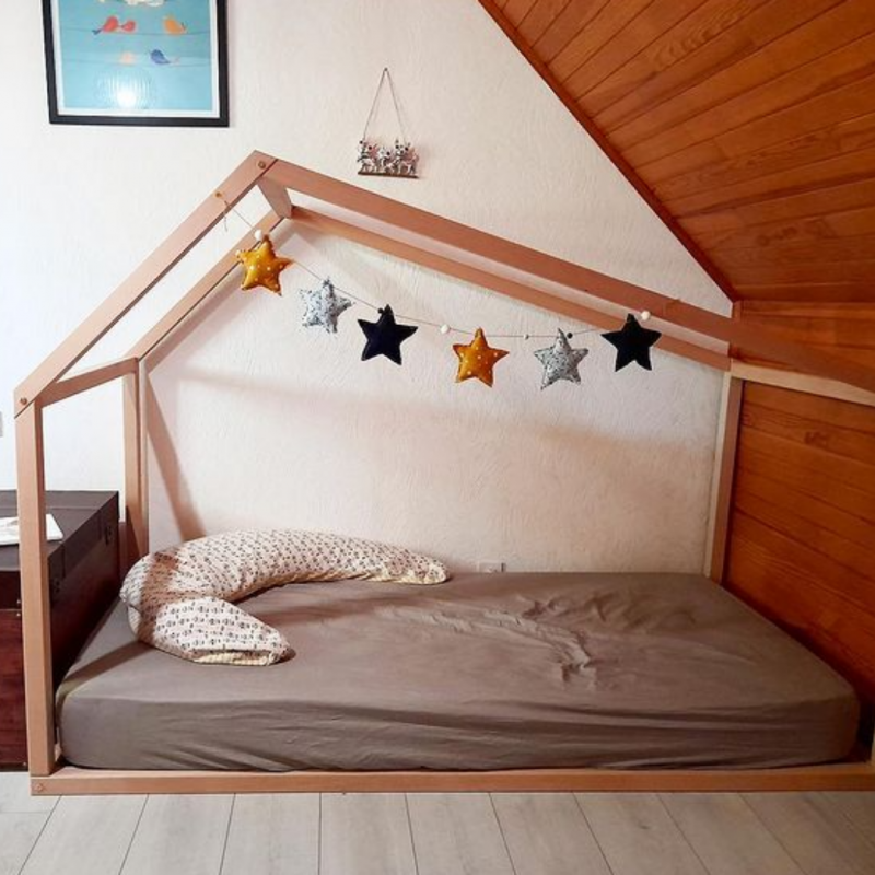 "Lit Montessori ""Grande Cabane"" 90x190"
